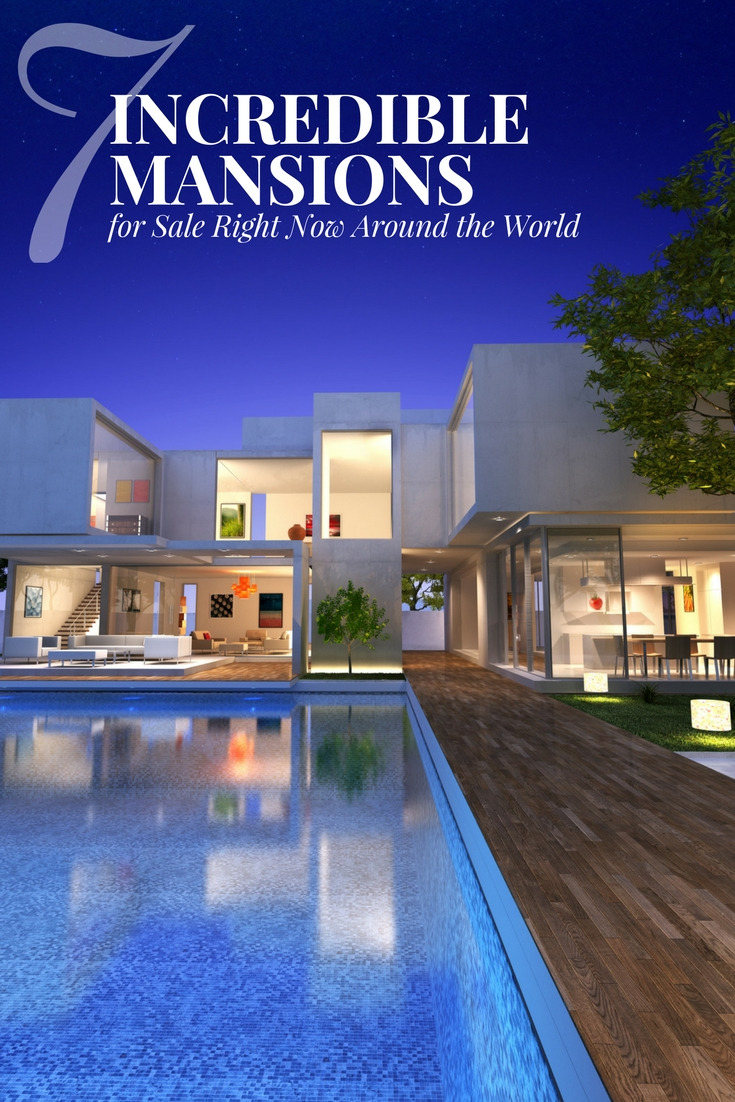 Incredible Mansions Sale Right Now Around the World