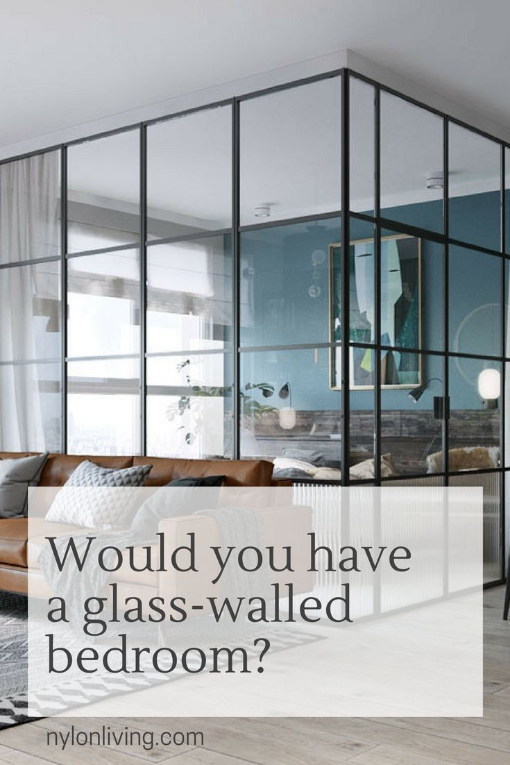 Bedroom with Glass Walls Beautiful Glass Walls for Bedrooms