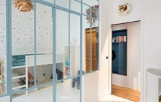 Bedroom With Glass Walls Elegant Glass Walls For This Kids Room Love The Light Blue Trim