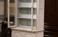 Buffet Cabinet With Glass Doors Fresh 19th Century Louis Xvi Painted Buffet Display Cabinet With Glass Doors