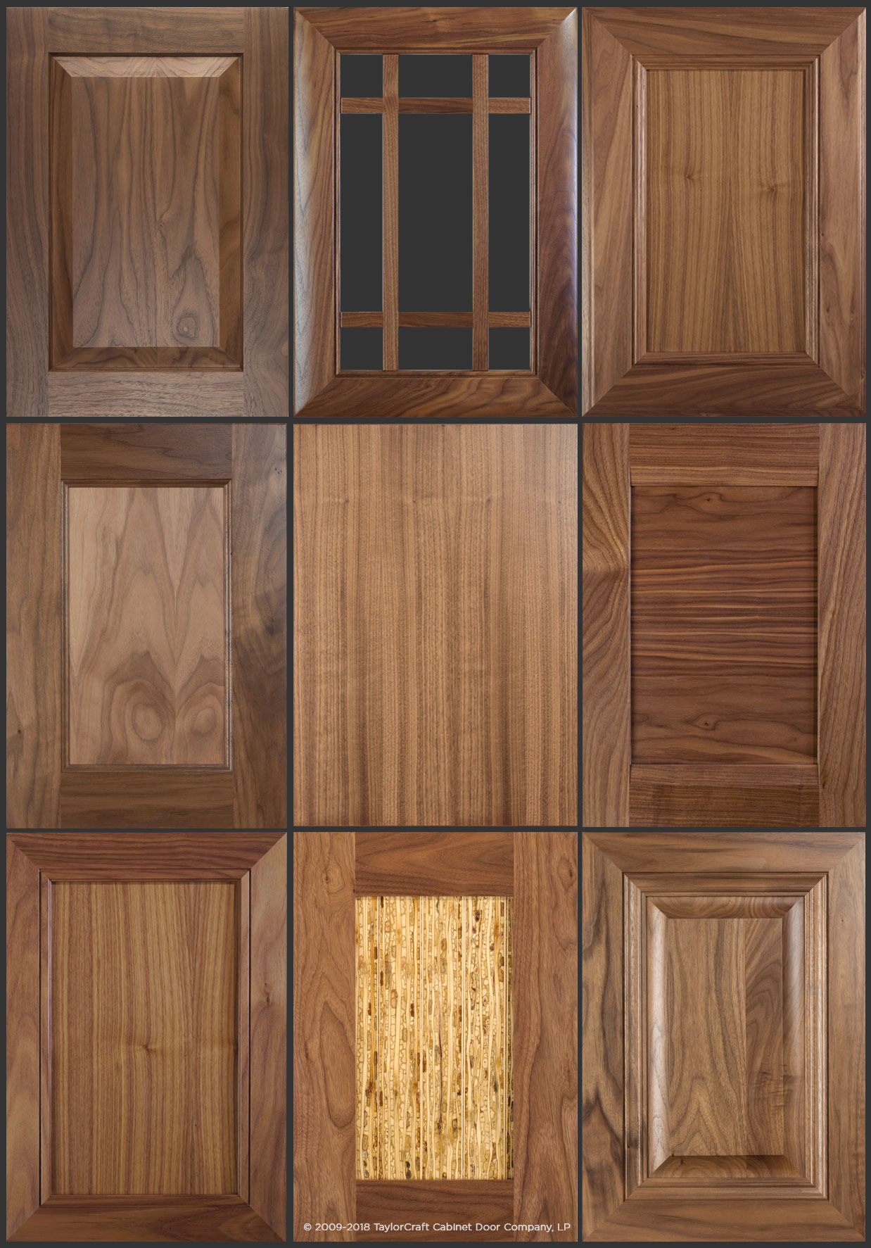 walnut doors