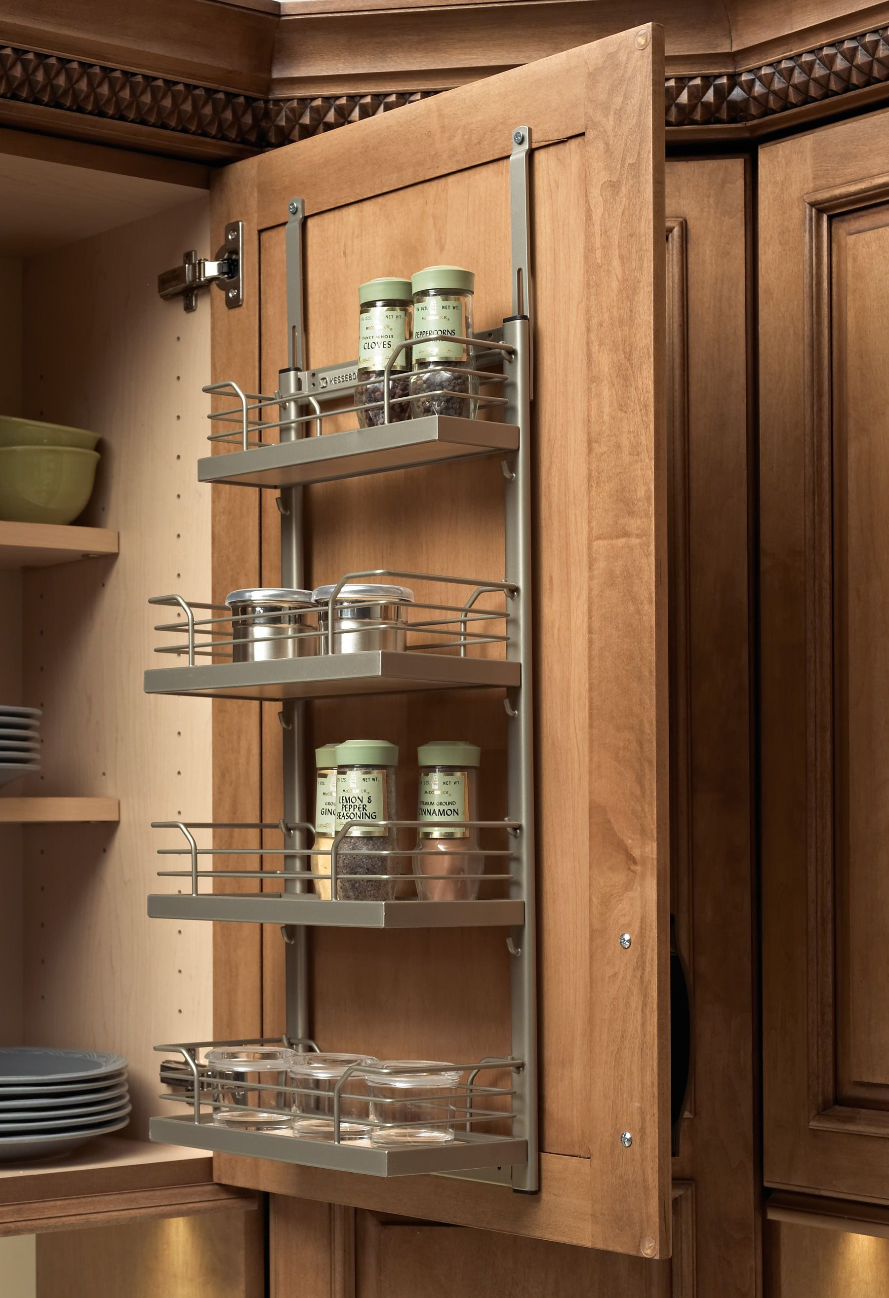 Cabinet Door Shelves Beautiful Wall Spice Rack Use In Bathroom for Ting Product Off