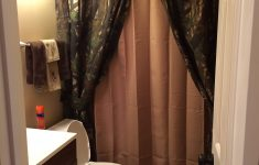 """Camo Bathroom Decor Awesome Mixing """"manly"""" With """"classy"""" Using Camo Curtains Browning"""