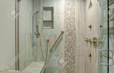 Contemporary Walk In Shower Beautiful Contemporary Bathroom Design Boasts Gorgeous Walk In Shower With