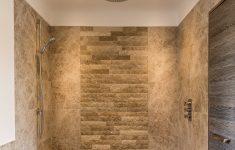Contemporary Walk In Shower Lovely Contemporary Walk In Shower With Feature Rustic Stone