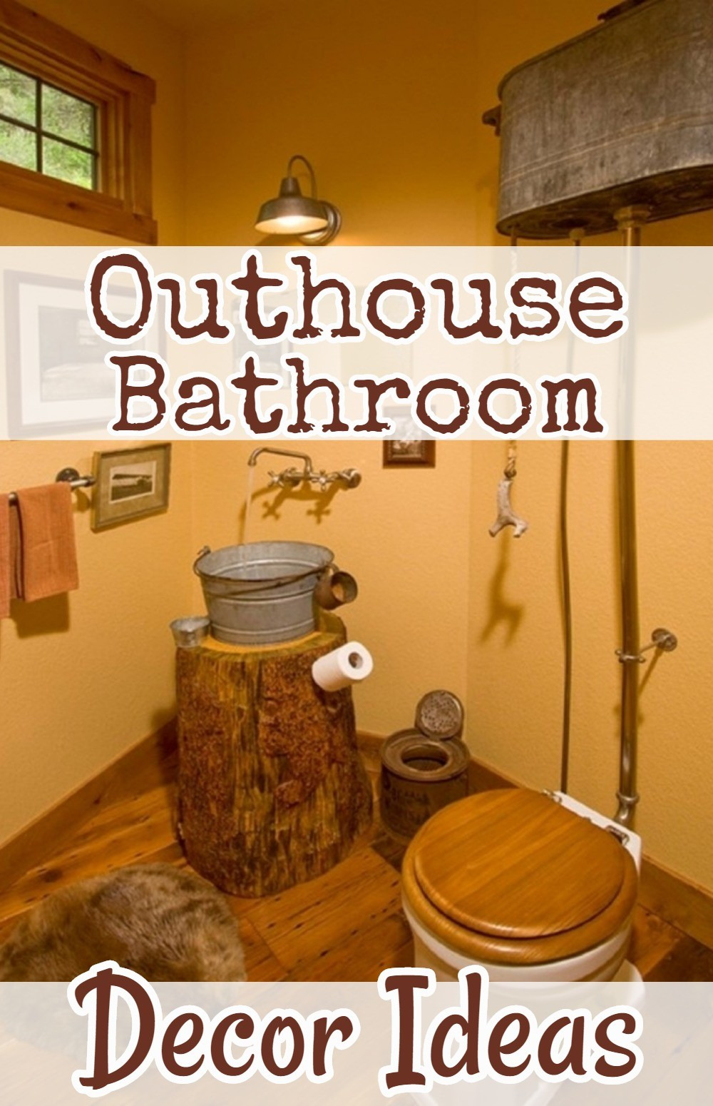 country outhouse decor ideas