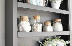 Decorative Bathroom Shelves Fresh 19 Luxury Bathroom Storage Ideas