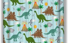 Dinosaur Bathroom Decor Elegant Amazon Yilinger Home Decor Shower Curtain By Fabric 60