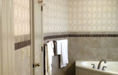 "Egyptian Bathroom Decor Elegant Bathroom In Daltile Continental Slate ""egyptian Beige"" 12x12"