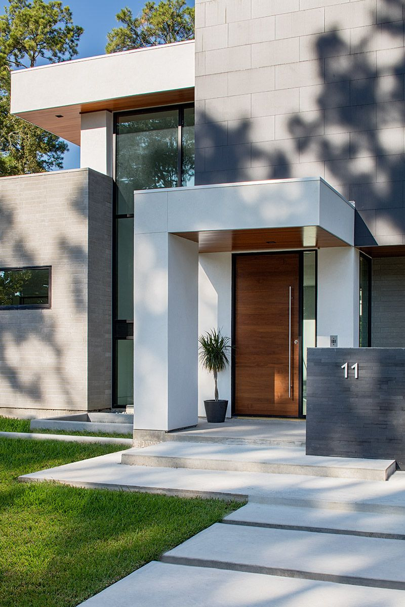 Entrance Design for Home Luxury A Modern Smart House