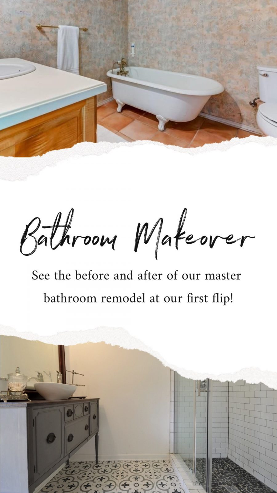 Flip Flop Bathroom Decor Beautiful Our Pool House Reno What Changing Tile Can Do for Your