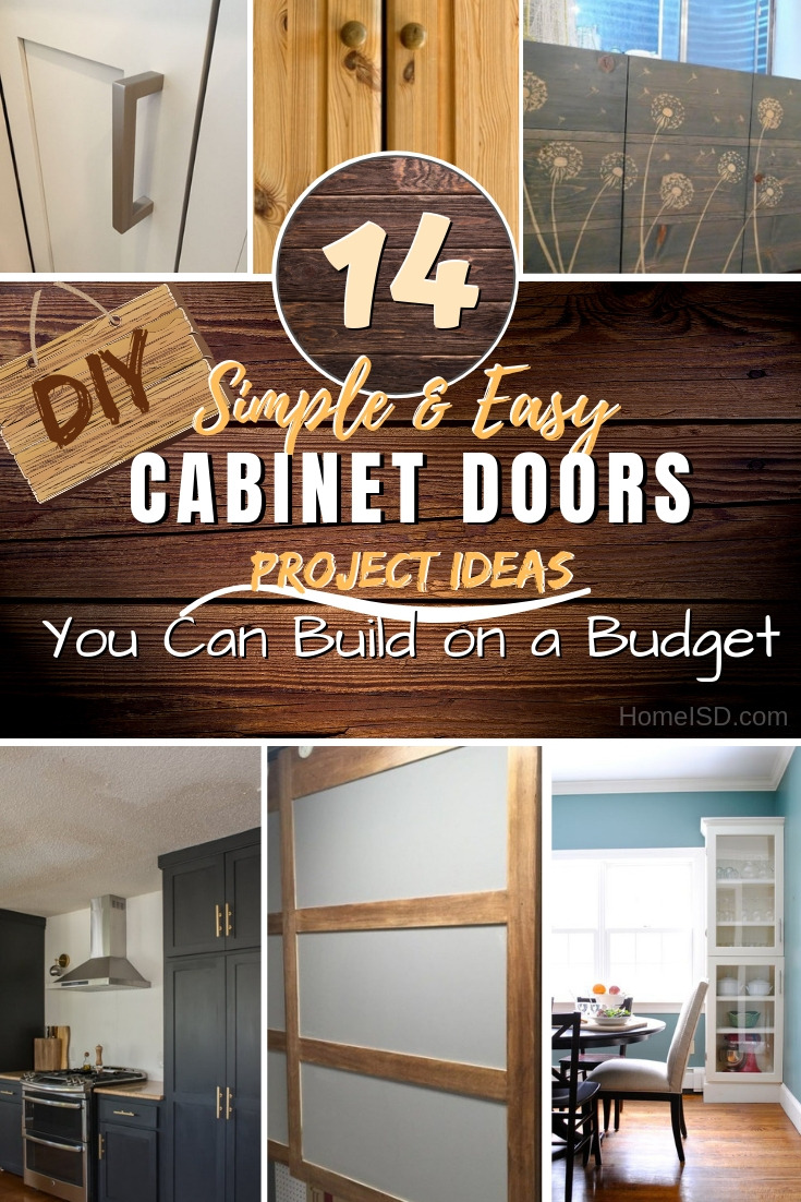 Homemade Cabinet Doors Best Of 14 Easy Diy Cabinet Doors You Can Build On A Bud