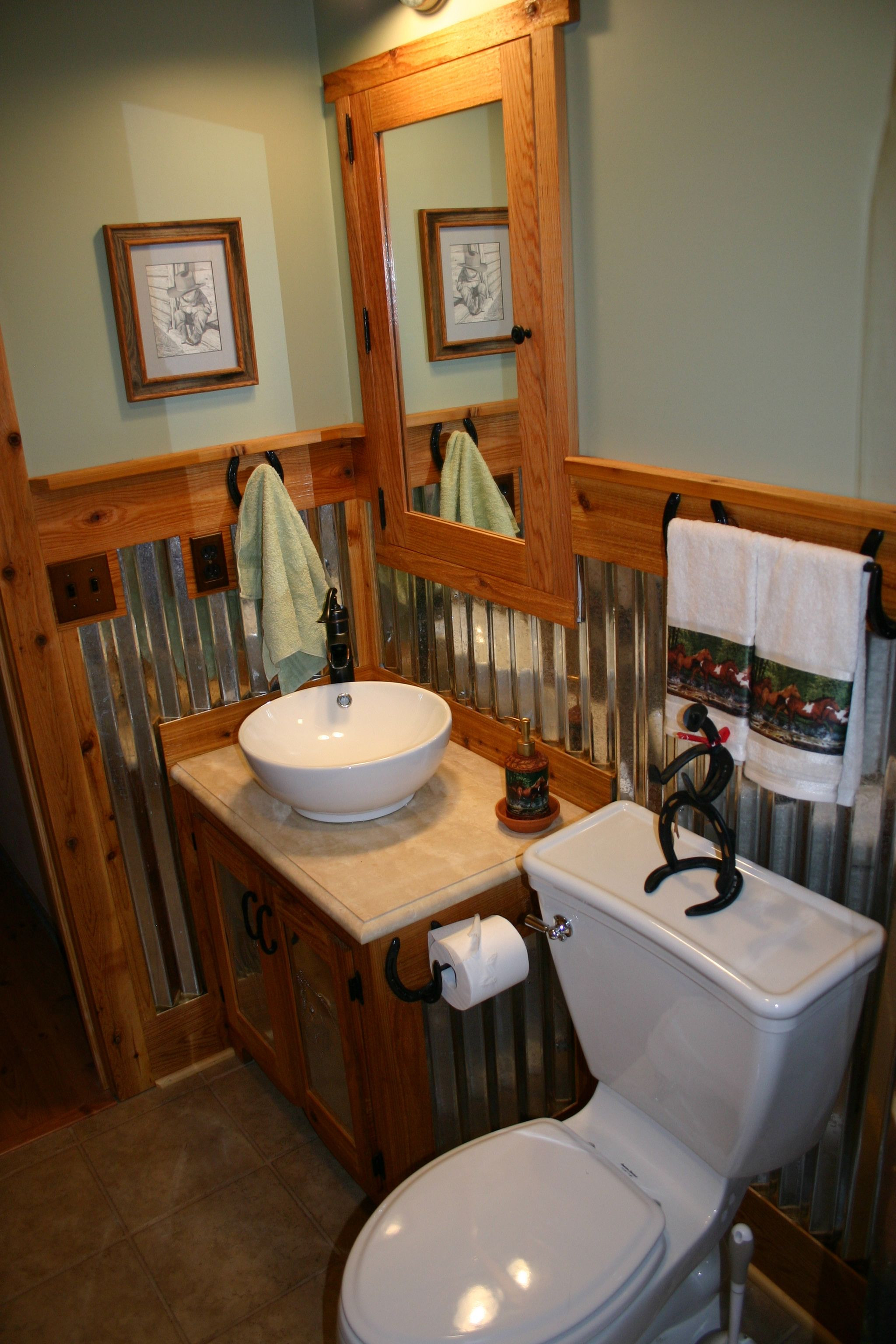 Horse Bathroom Decor Awesome Horse themed Bathroom with Images