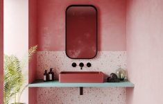 How To Decorate Bathroom Walls Fresh 51 Pink Bathrooms With Tips S And Accessories To Help