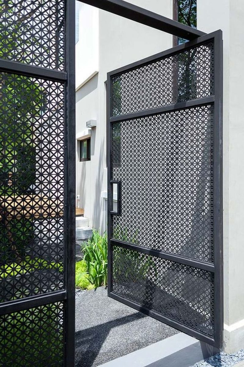 Latest Front Gate Designs for Small Homes Unique 10 Creatively Simple Gate Design for Small House 2019