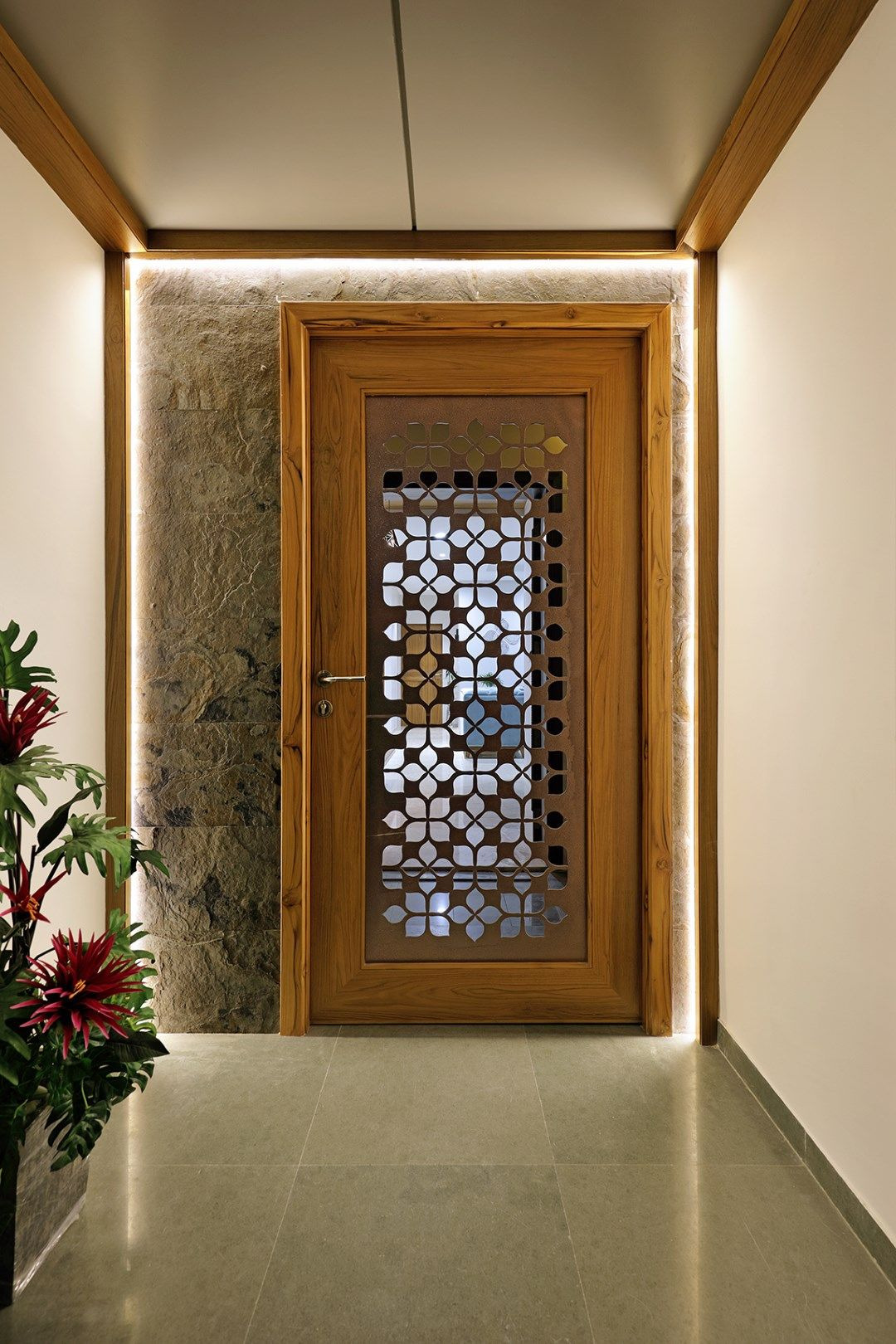 Latest Main Door Designs Of Flats Best Of Floral Pattern Inspires Apartment Interiors