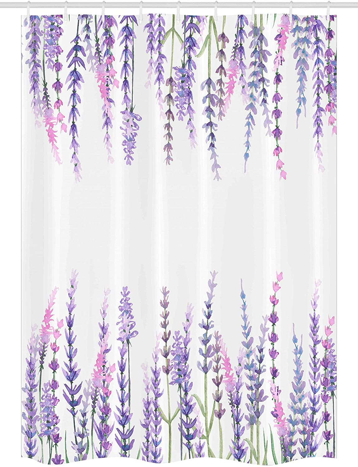 Lavender Bathroom Decor Lovely Ambesonne Purple Stall Shower Curtain Lavender Plants Aromatic Evergreen Shrub Of Mint Family Nature Oil Country Style Print Fabric Bathroom Decor