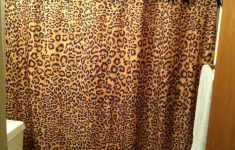 Leopard Bathroom Decor Beautiful Shower Curtain ♡