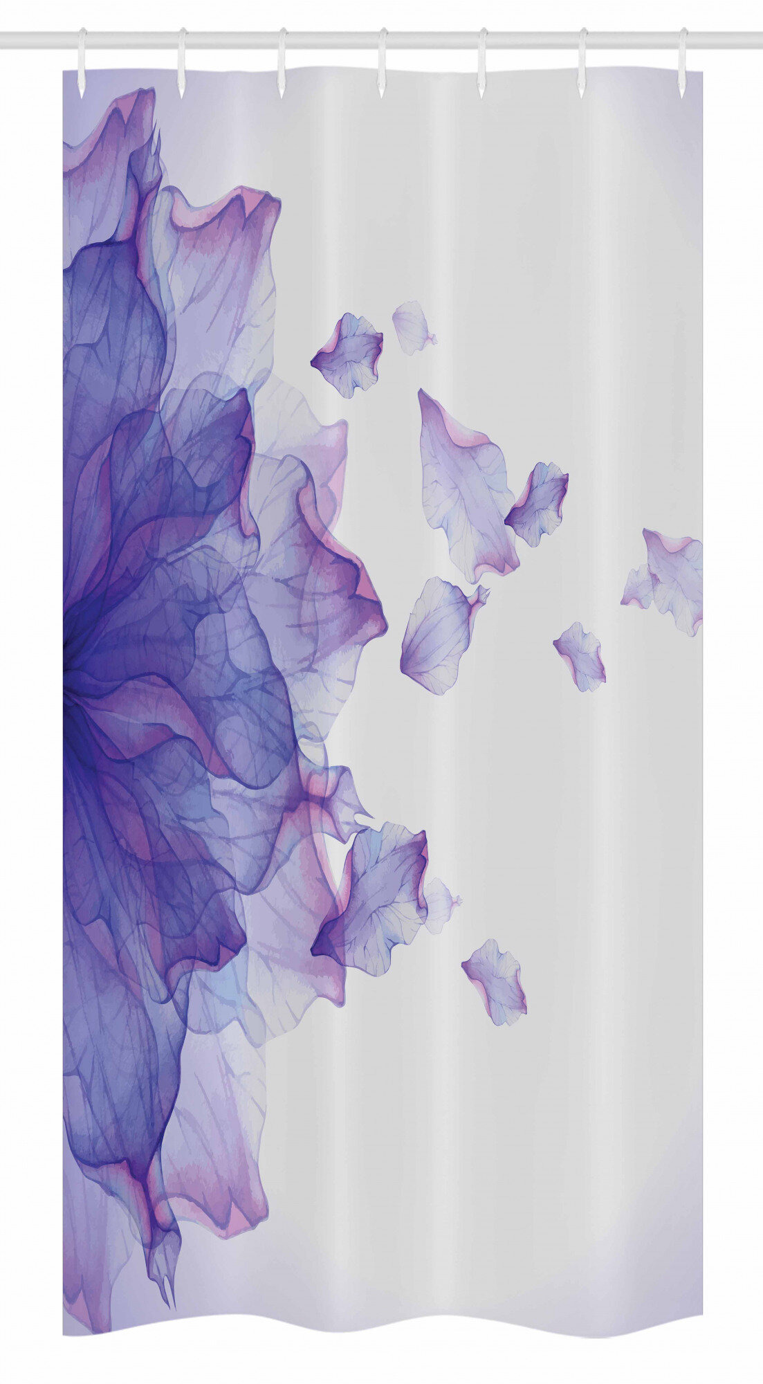 Lilac Bathroom Decor Fresh Ambesonne Flower Stall Shower Curtain Abstract themed Modern Futuristic Image with Water Like Coloured Artwork Print Fabric Bathroom Decor Set with