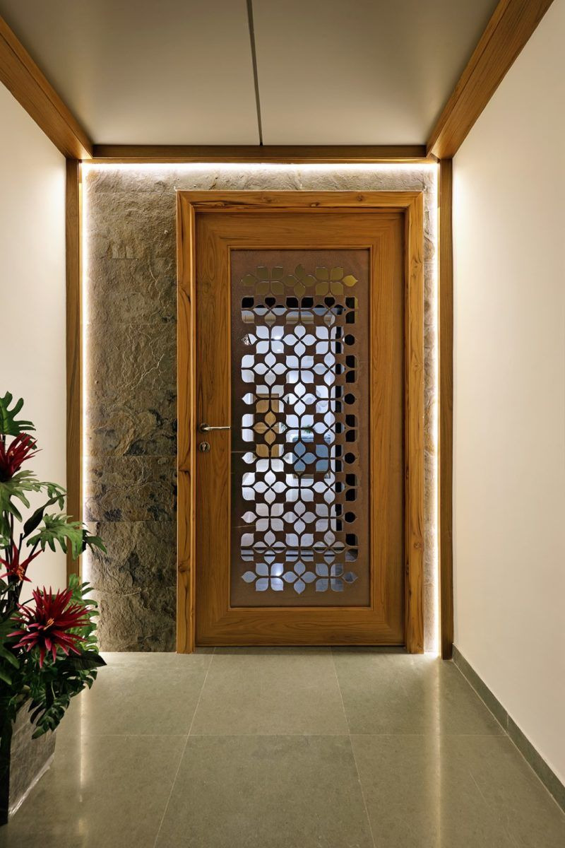 Main Door Designs for Home New Floral Pattern Inspires Apartment Interiors