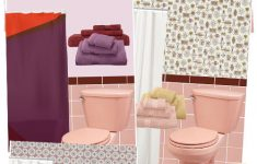 Maroon Bathroom Decor Unique 11 Ideas To Decorate A Burgundy And Pink Bathroom Retro
