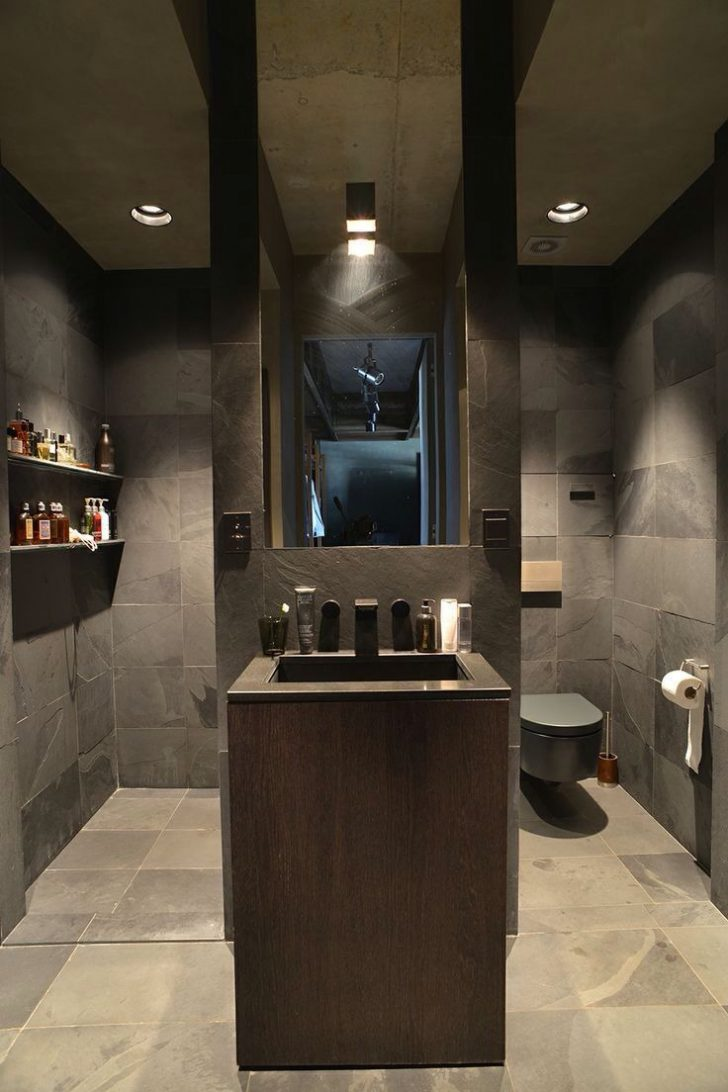 Masculine Bathroom Decorating Ideas 2020