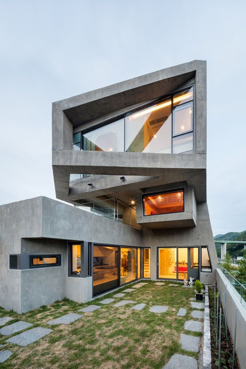 Modern Architecture Home Design Awesome 13 Modern House Exteriors Made From Concrete