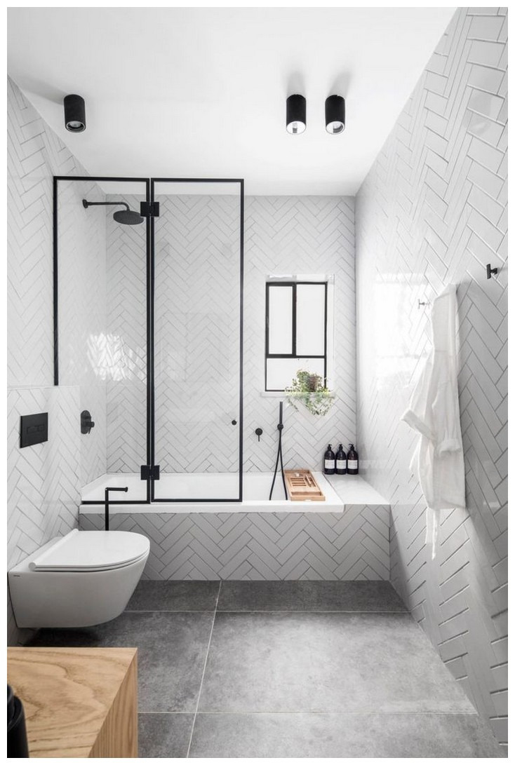 84 Modern Bathroom Decor Ideas Match With Your Home Design Style Page