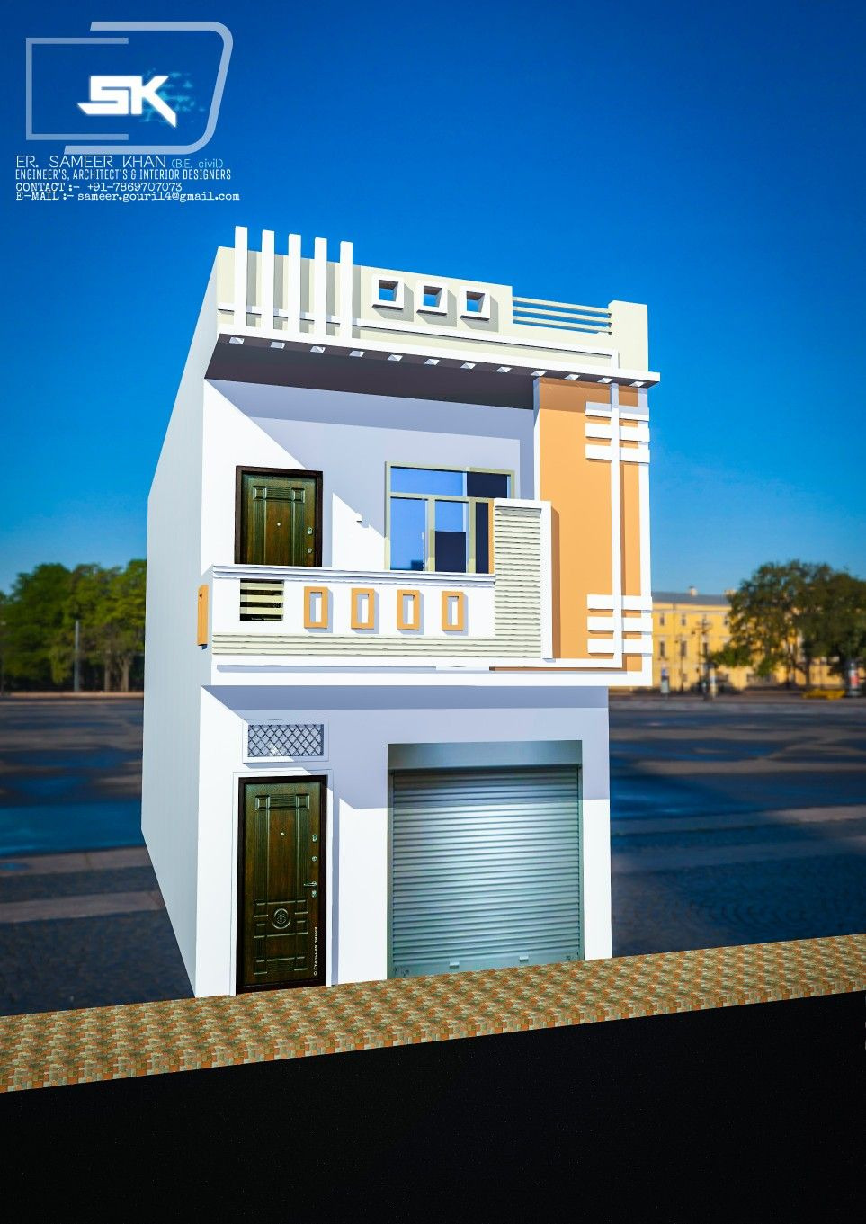 Modern House Front Design Best Of Introducing Modern Indian House Exterior Elevation with 15