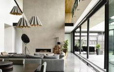 Modern House Interiors Pictures Awesome Stylish Concrete Interiors For Contemporary Homes