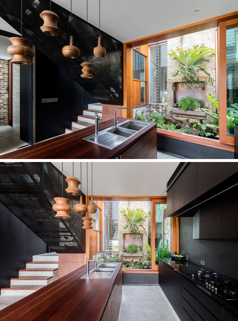 Modern House Interiors Pictures Beautiful Carter Williamson Architects Used Black to Give This