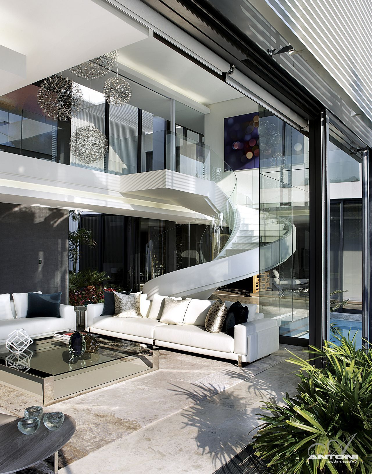 Modern Mansion With Perfect Interiors by SAOTA featured on architecture beast 07