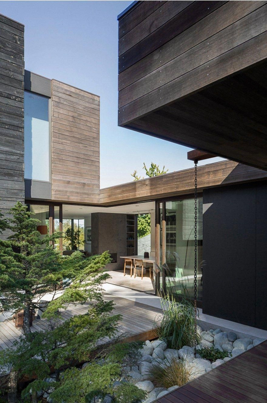Modern House Structure Design Unique Helen House is A Simple Modern Structure Integrated with A