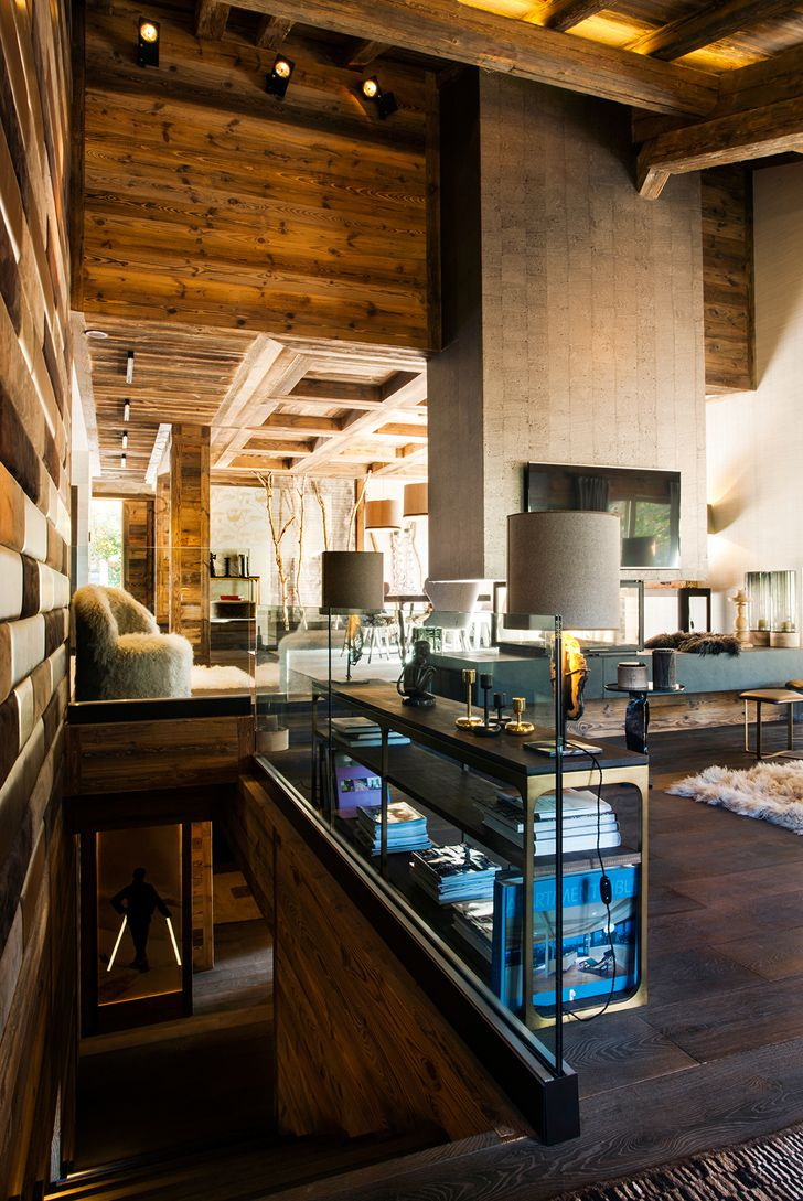 Mountain Chalet Interior Design Best Of Elegant Chalet In the French Alps Mountain