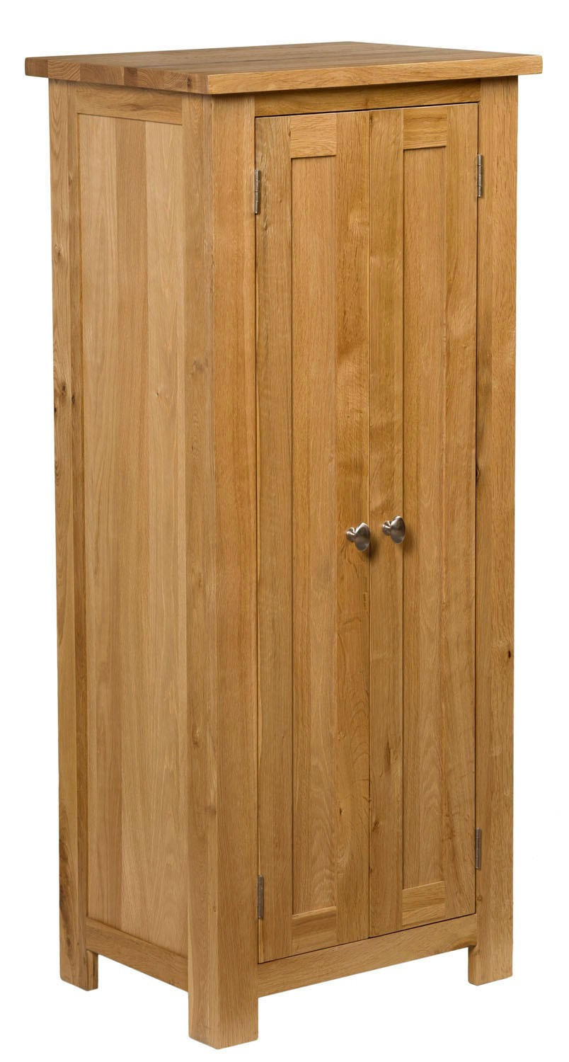 Narrow Cabinets with Doors Luxury Waverly Oak Tall Narrow Cupboard Ideal for Pact Spaces