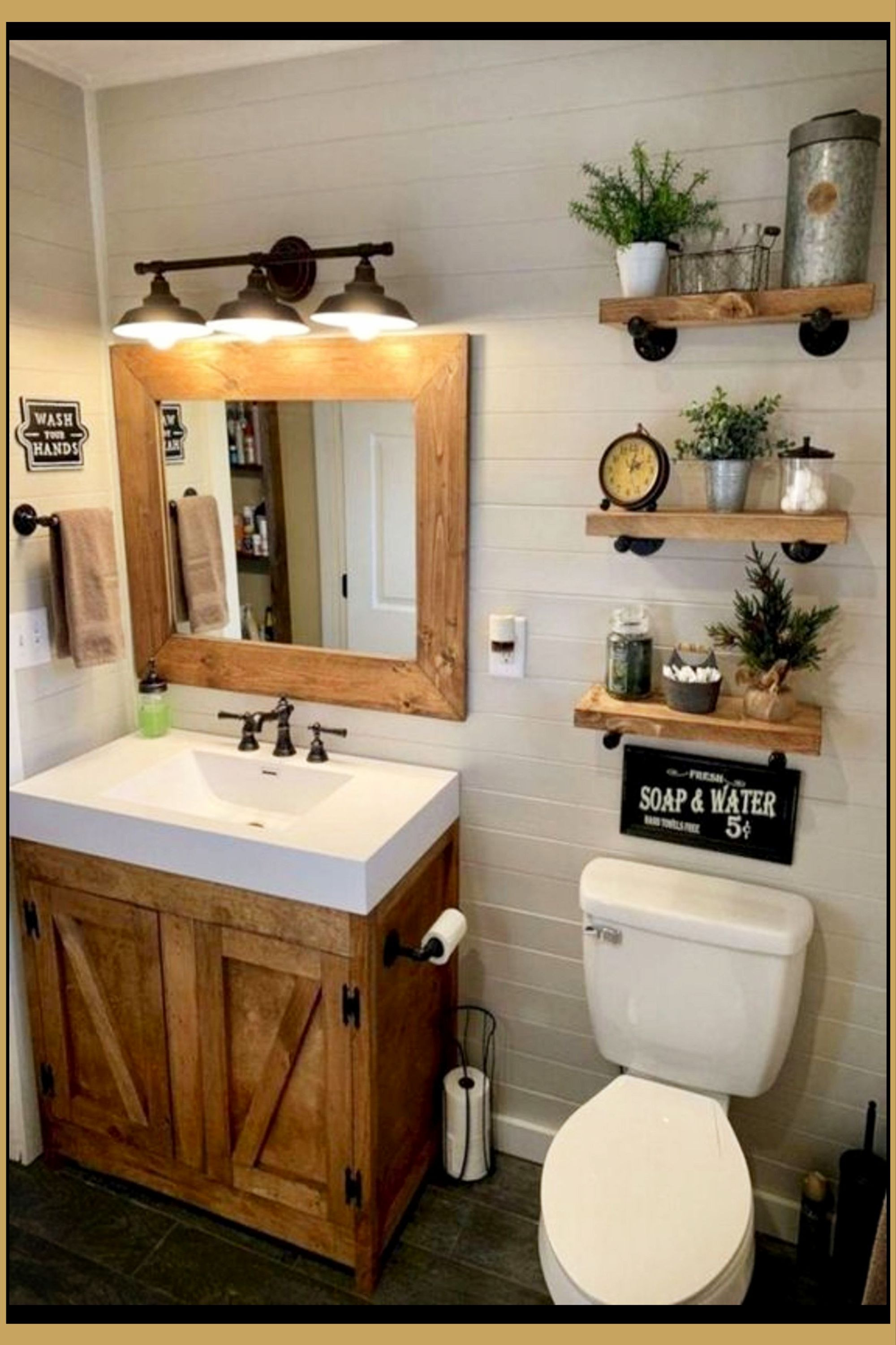 Outhouse Bathroom Decorating Ideas Awesome Country Outhouse Bathroom Decorating Ideas In 2020
