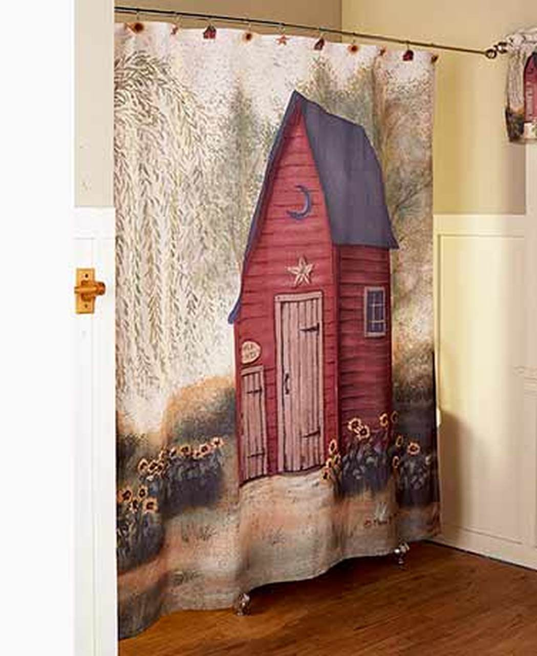 Outhouses Bathroom Decor Lovely Outhouse Bathroom Collection Primitive Home Rustic Artwork Pam Britton Fabric