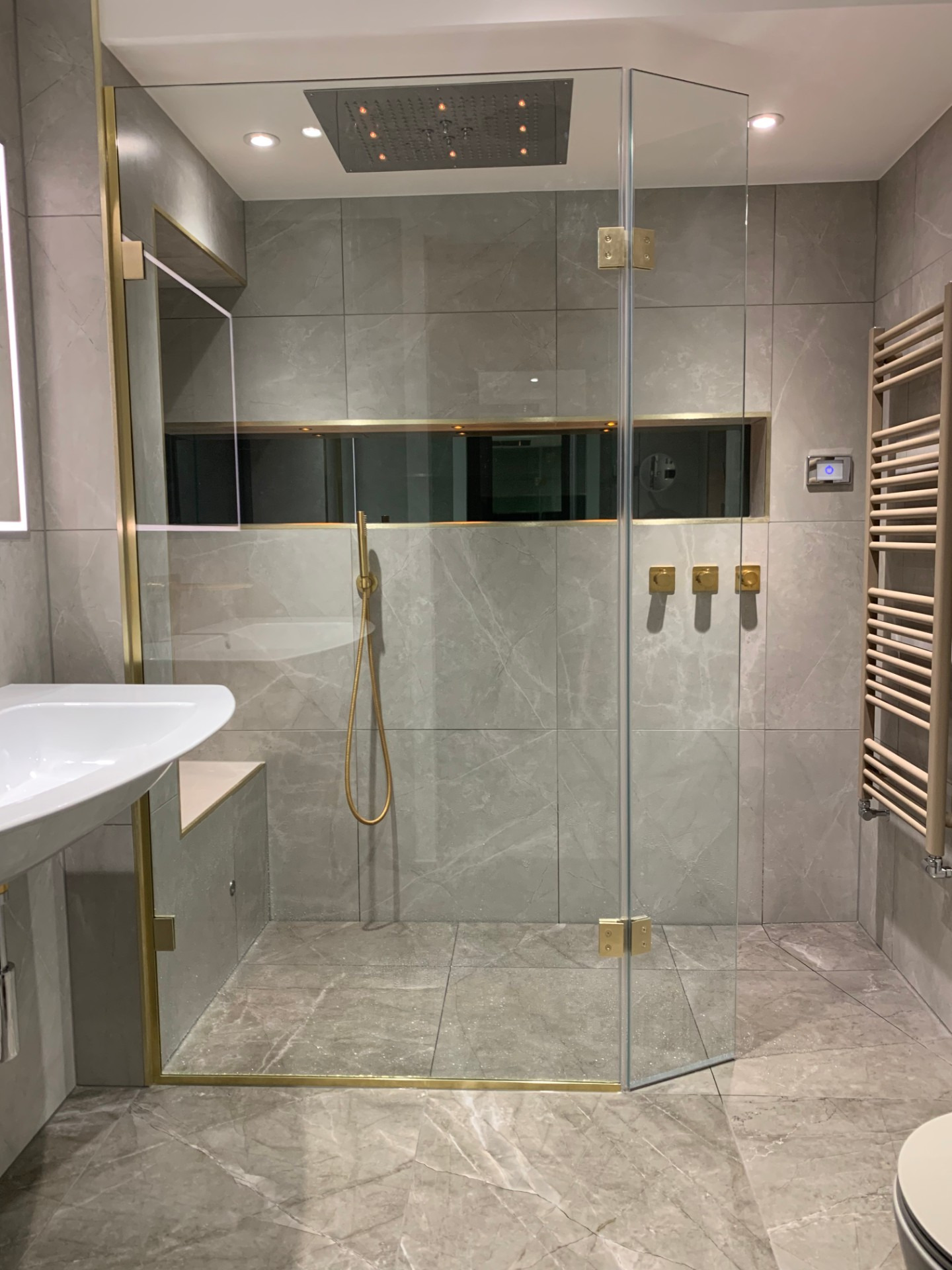 Bathe Bathrooms Walk in Shower Ideas