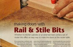 Router Bits For Cabinet Door Making Lovely Making Doors With Rail And Stile Bits