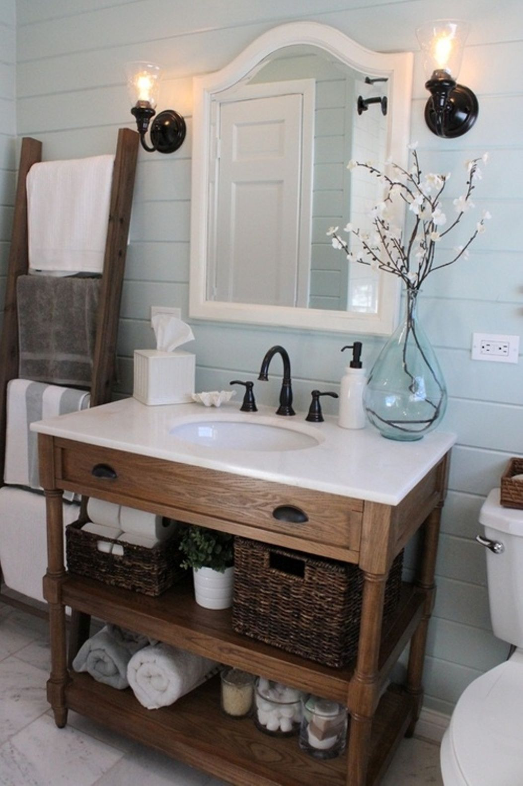 04 rustic bathroom design decor ideas homebnc
