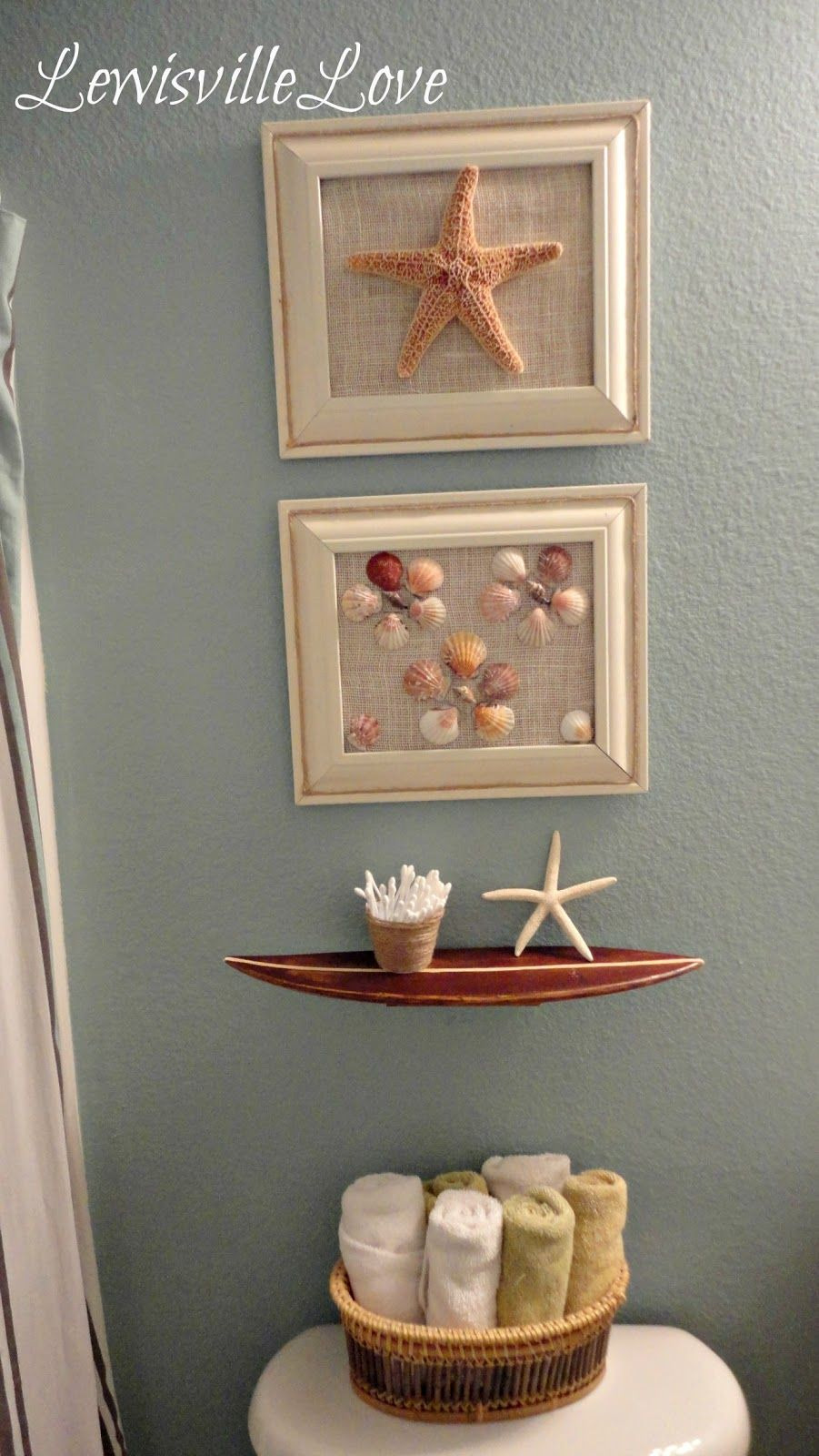 Seashell Decorations for Bathroom Best Of Beach Bathroom Decor You Can Make at Home