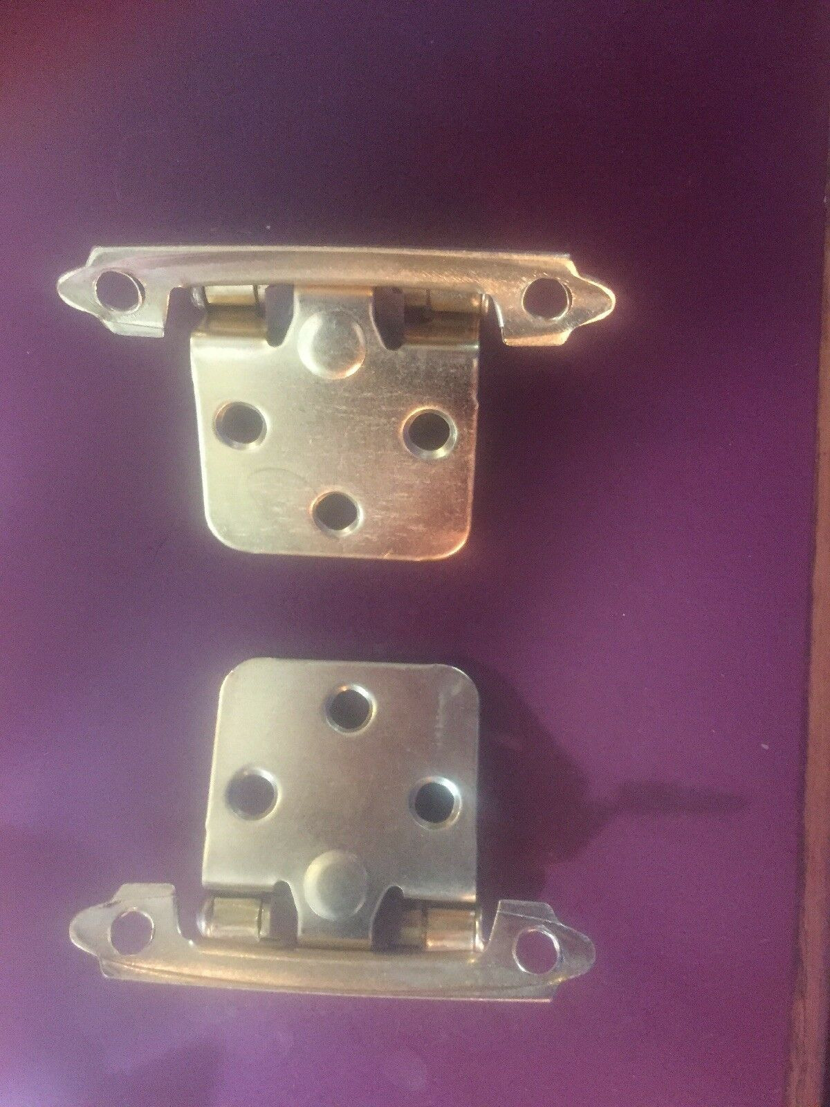 Self Closing Cabinet Door Hinges Lovely Self Closing Cabinet Hinges 50 Gold Variable Overlay Sch30bb Face Mount 25 Pair