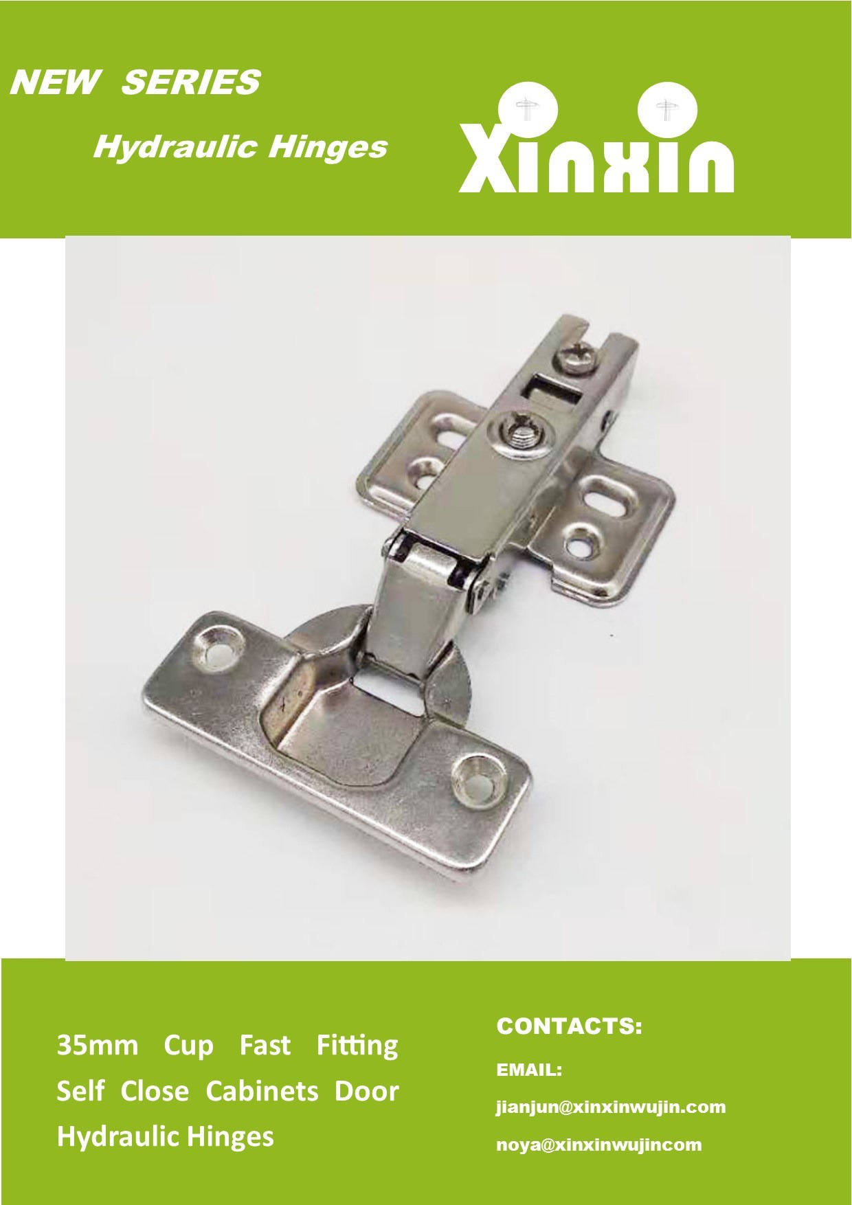 Self Closing Cabinet Door Hinges New [hot Item] 35mm Cup Fast Fitting Self Close Cabinets Door Hydraulic Hinges