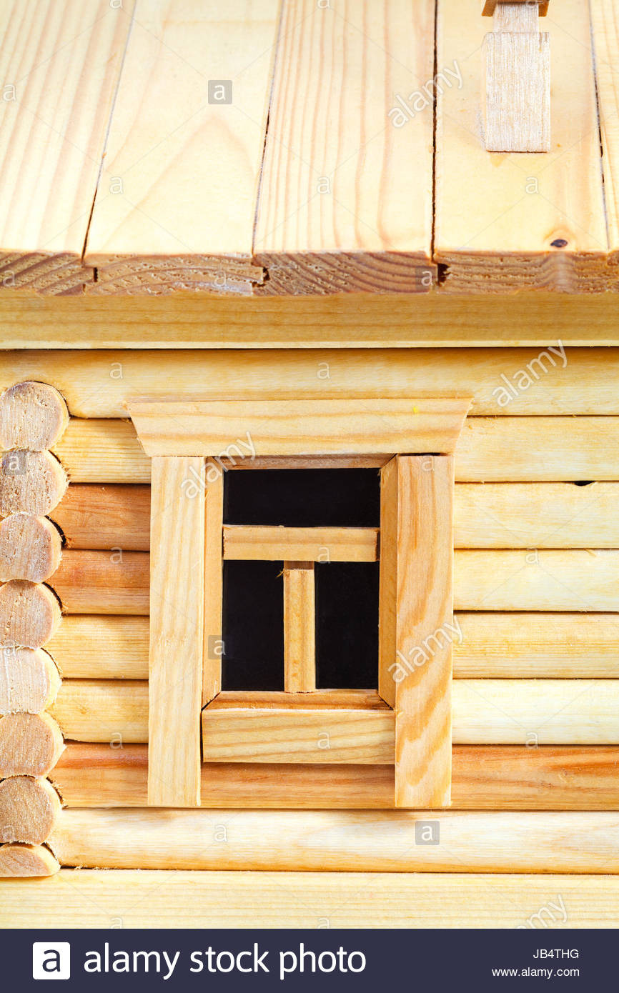 Simple Model House Picture Inspirational Window Of Model Of Simple Village Wooden Log House isolated