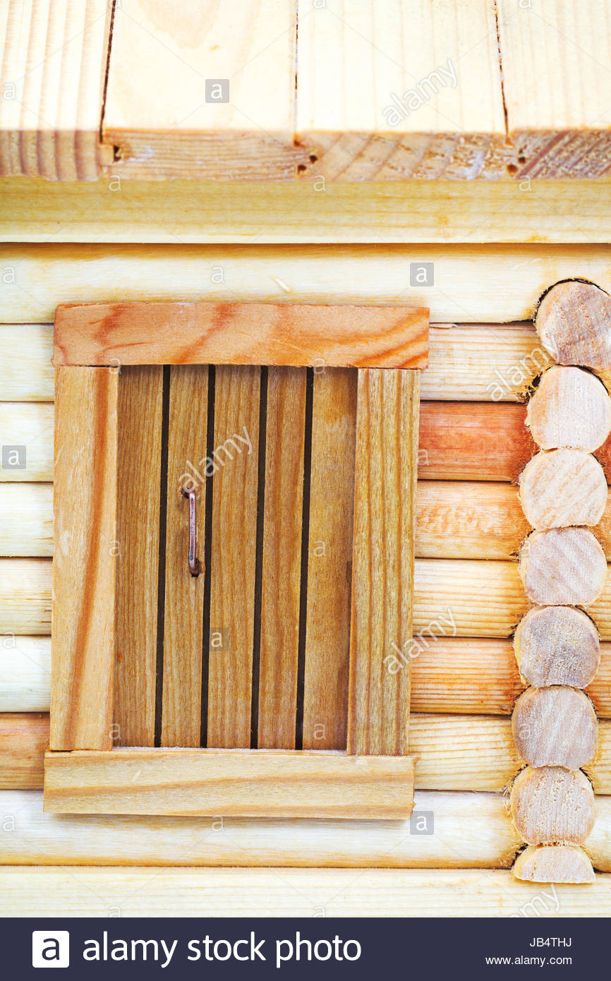 Simple Model House Picture Unique Door Of Model Of Simple Village Wooden Log House isolated On