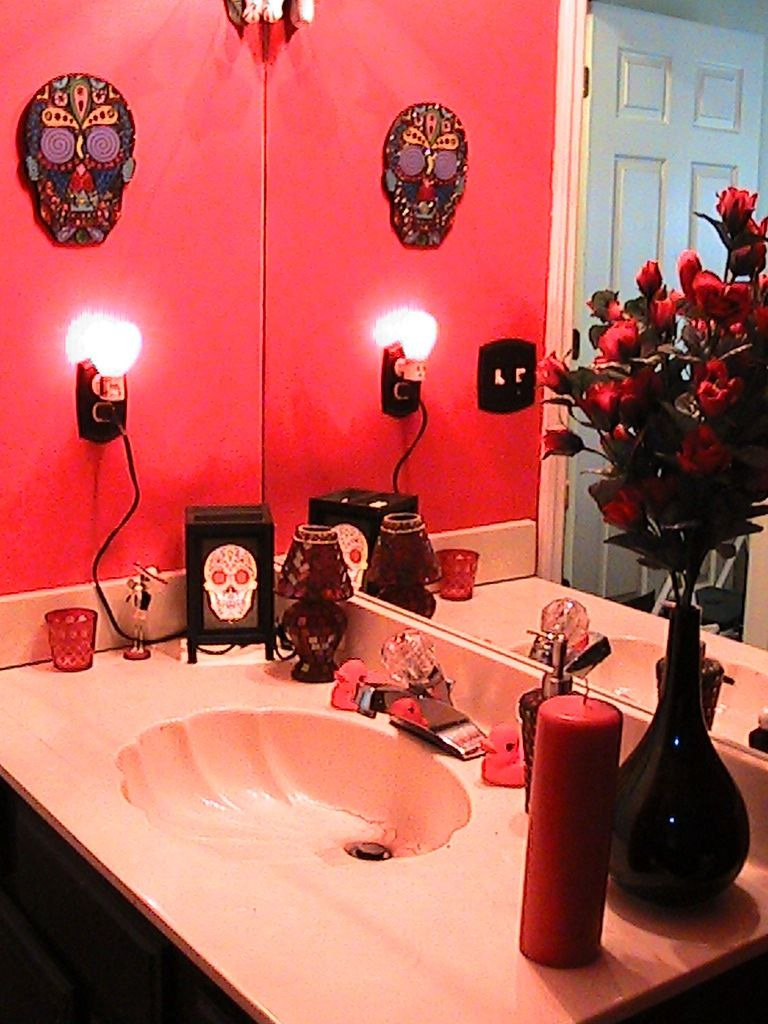 Skull Bathroom Decor Elegant Day Of the Dead Bathroom with Images