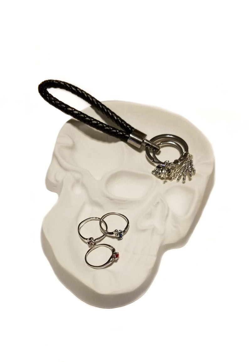 Skull Bathroom Decor Fresh Skull Bathroom Decor Trinket Dish Jewelry Tray Wall Hanging Wedding Decoration Halloween Party Gothic Gifts for Her Father S Day Gifts