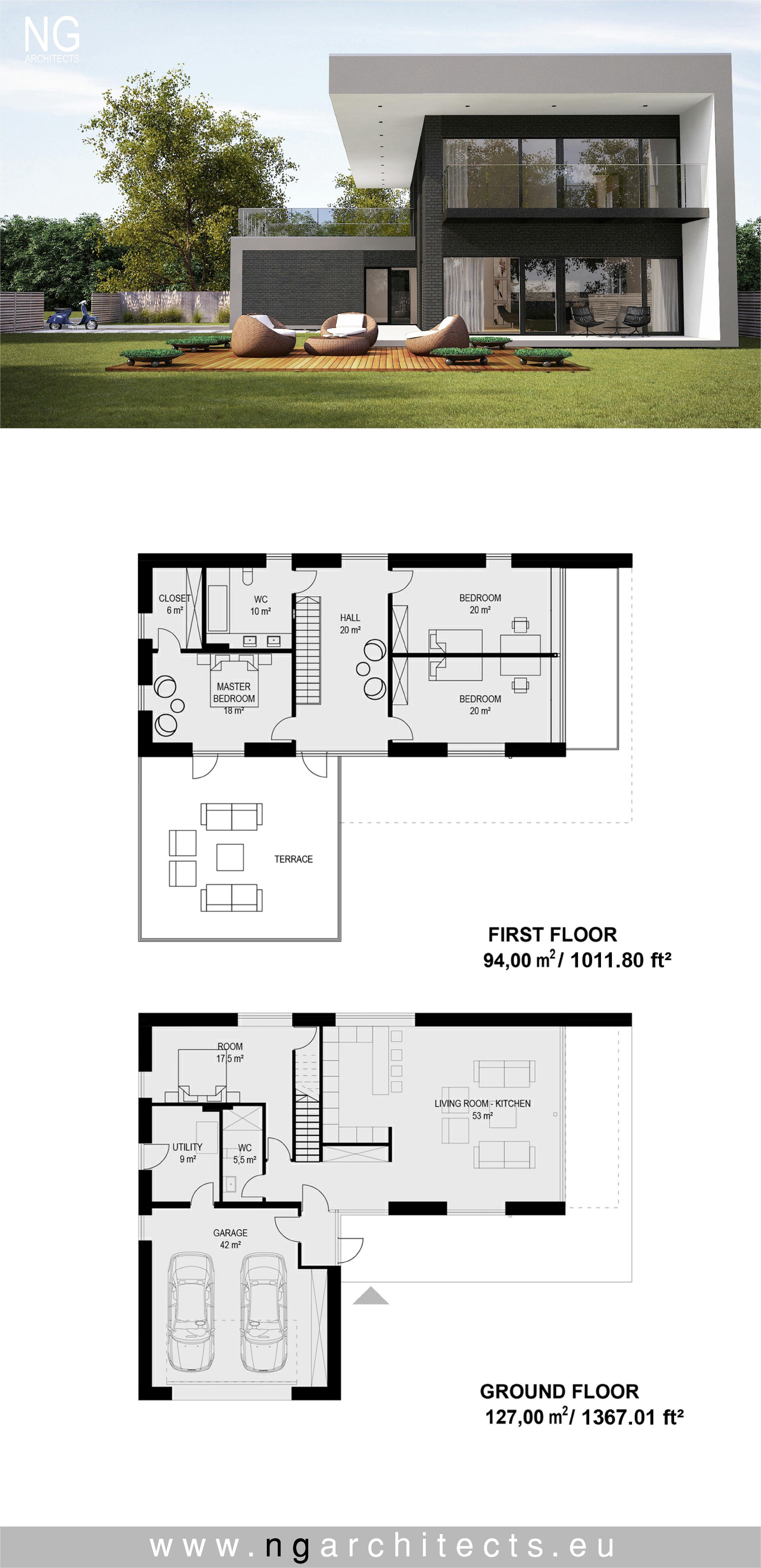 Small Modern House Architect Design Luxury Pin On Modern House Plans