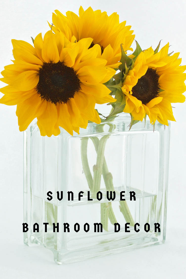 sunflower bathroom decor ideas accessories