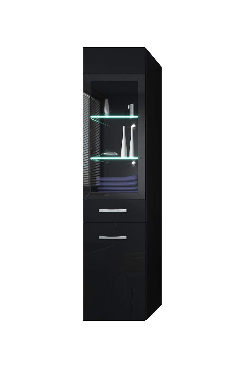 Tall Black Cabinet with Doors Awesome Storage Cabinet Rio 131cm Height Bodega Grey Storage Cabinet Tall Cupboard Bathroom Furniture
